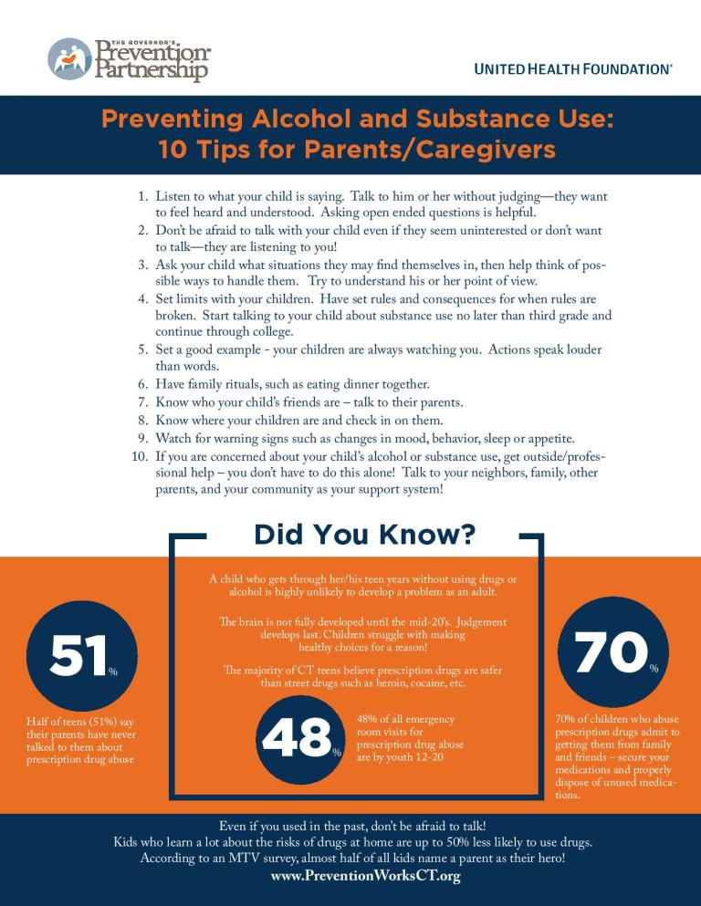 10 Tips for Preventing Alcohol and Substance Use-page-001