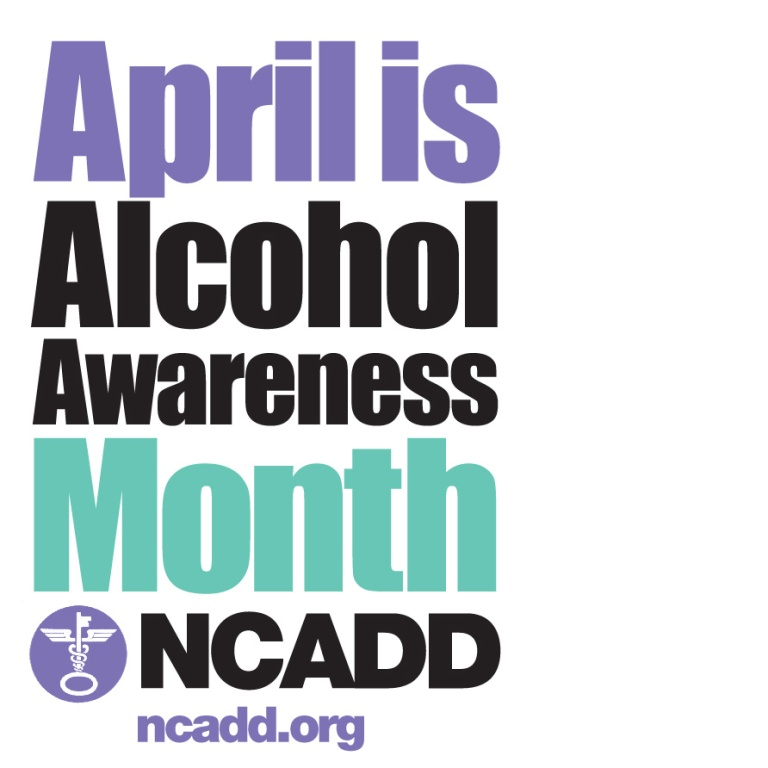 NCADD Alcohol Awareness Month Logo 2